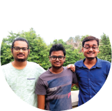 Abhay Singh, Indra Raj & Ujjawal Gajjar