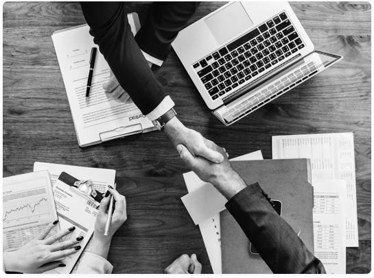 businessman collaborate collaboration