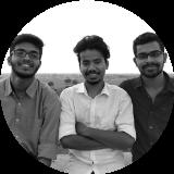 Soham Mohanty, Balgovind Shanbhag and Shantanu thorat