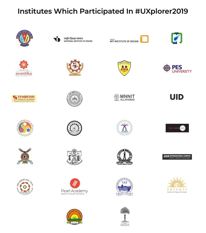 colleges participated in uxplorer