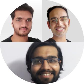 Neel Padia, Aseem Saini and Harsh Soni