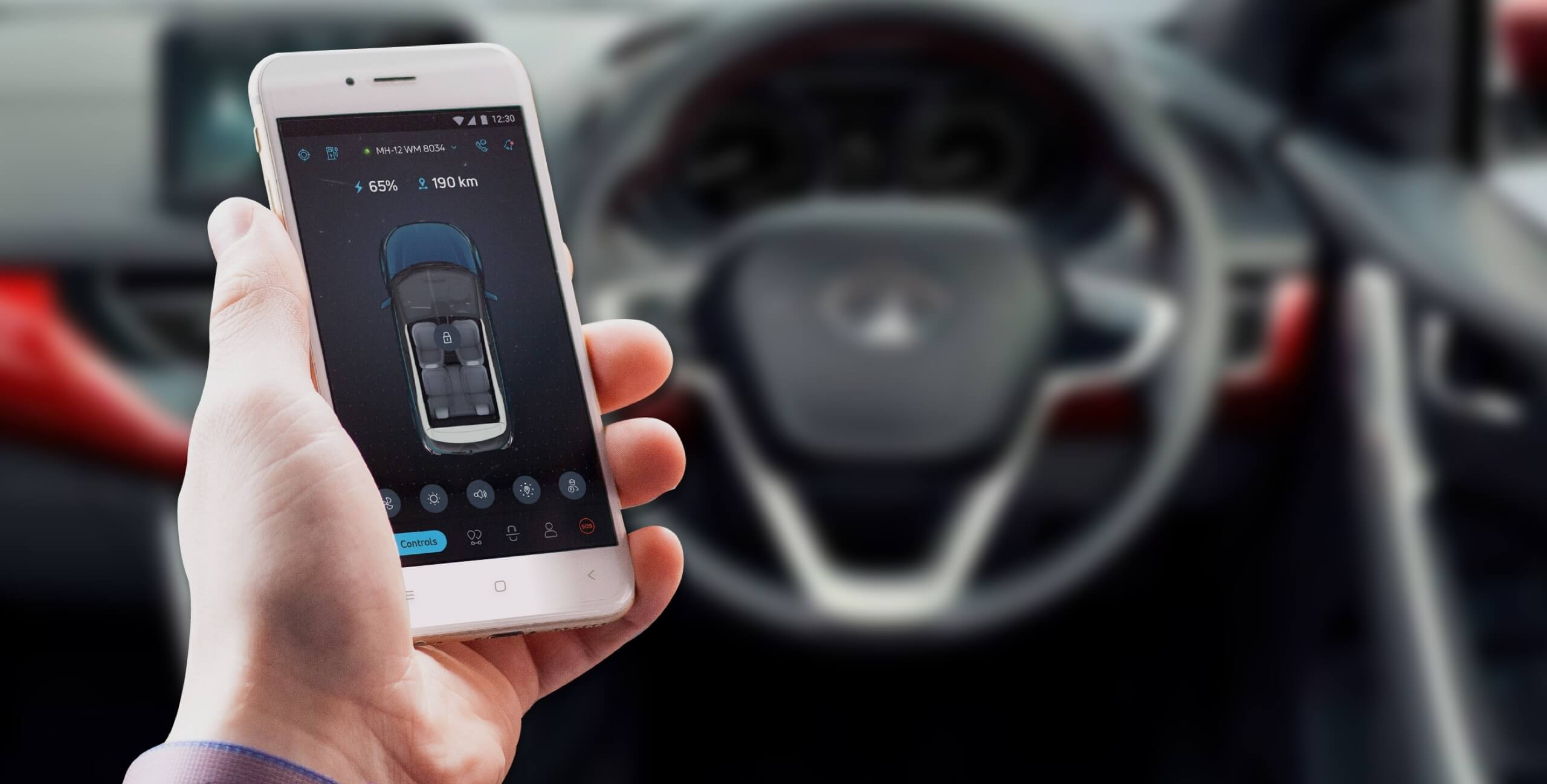 Smart application for cars experience the best ui ux design & development services