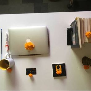 the work culture at Yuj designs