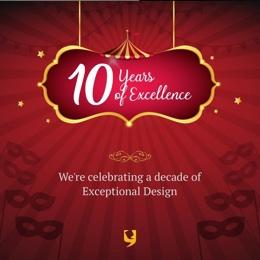 YUJ Designs -10th Work Anniversary Celebration